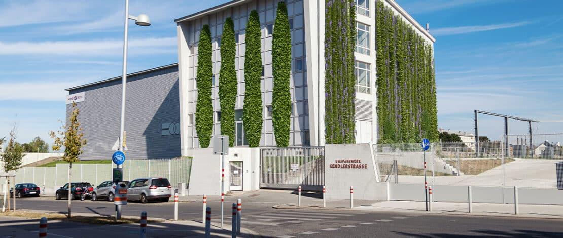 Begrünung Umspannwerk Kendlerstraße