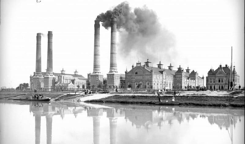 Städtisches Elektrizitätswerk Simmering 1910