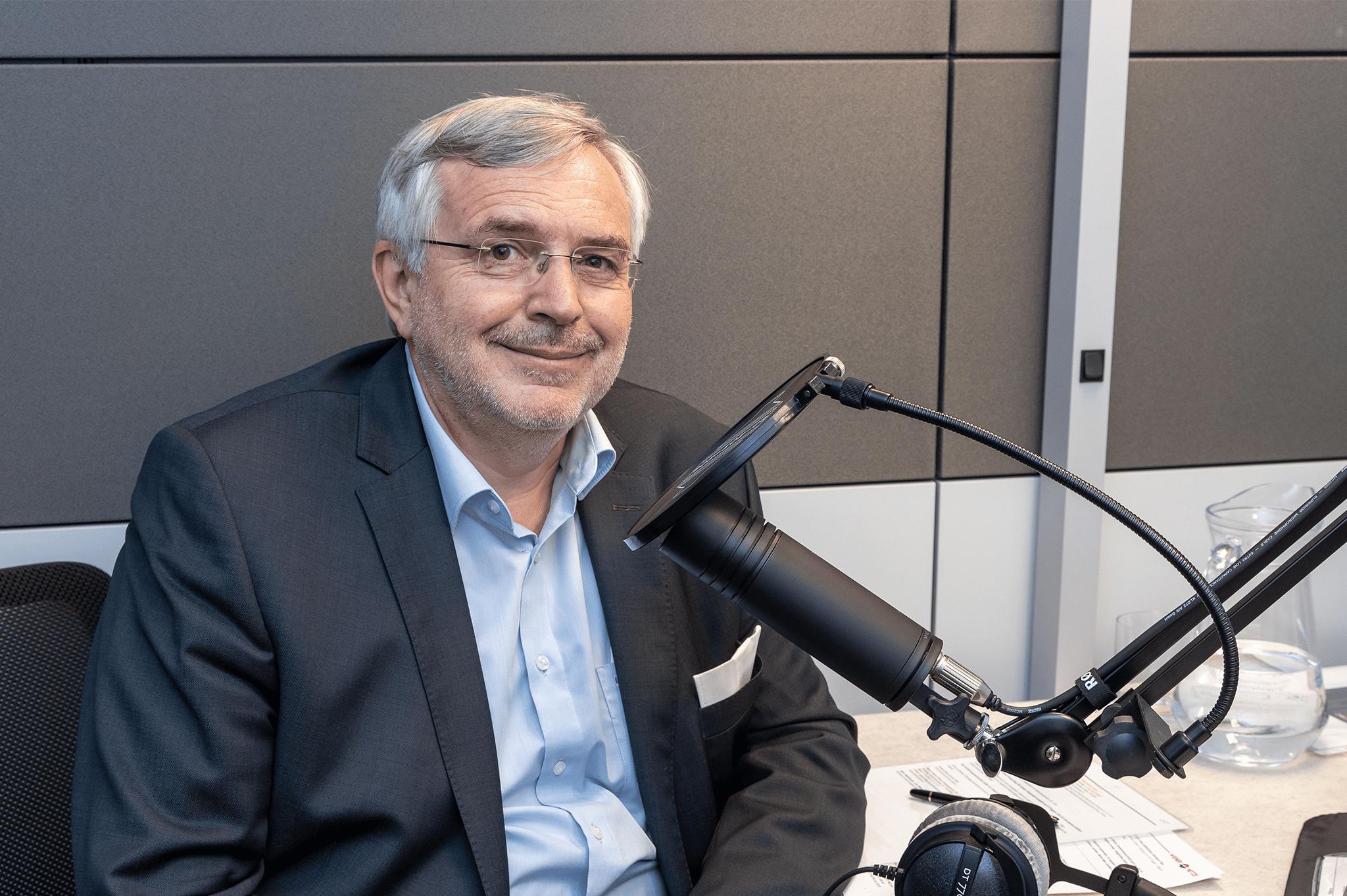 Geschäftsführer Gerhard Fida